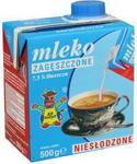 Gostyń Mleko zagęszczone niesłodzone 75% 500ml SM