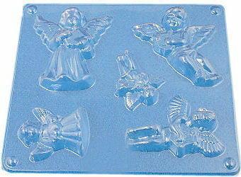 Forma do odlewów gipsowych A - F2 - 2 aniołki