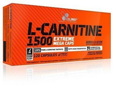 Olimp L-Carnitine 1500 Extreme Mega Caps 120kaps.