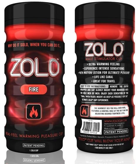 Zolo Masturbator - Zolo Fire Cup Rozgrzewający ZO001F