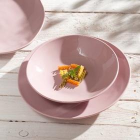 Dekoria Talerz głęboki C&T Pastellove pink 22,5cm
