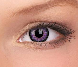 Maxvue Vision Vision ColourVue Glamour kolor Violet 2 szt.