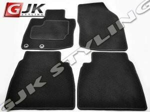 GJK Styling Dywaniki welurowe czarne standard Honda Civic 5dr 2006-2012