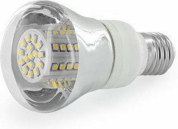Whitenergy żarówka LED | E27 | 80 SMD | 4W | 230V | barwa ciepła biała 3000k | reflektor
