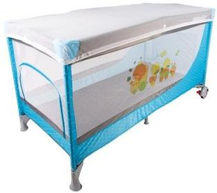 Kinderplay Łóżeczko łóżeczka turystyczne - niebieskie