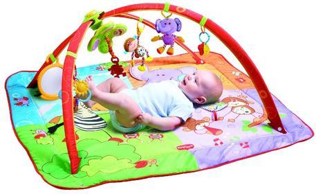 Tiny Love Move & Play Gimnastyka dla bobasa z pałąkami mata edukacyjna
