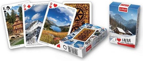 Trefl Karty 55 List. Tatry Zimą 08359