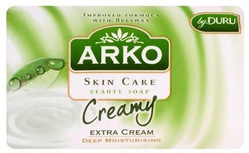 Arko SUNCO Mydło kosmetyczne Skin Care z dodatkowym kremem głęboko nawilżające 90 g