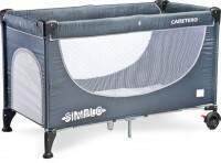 Caretero IKS 2 Caretero łóżeczko turystyczne Simplo Grey