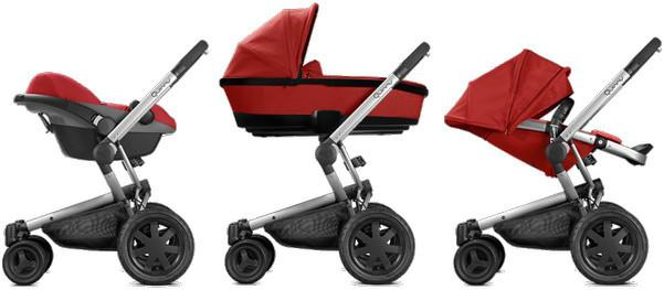 Quinny BUZZ XTRA 4 3w1 RED RUMOUR