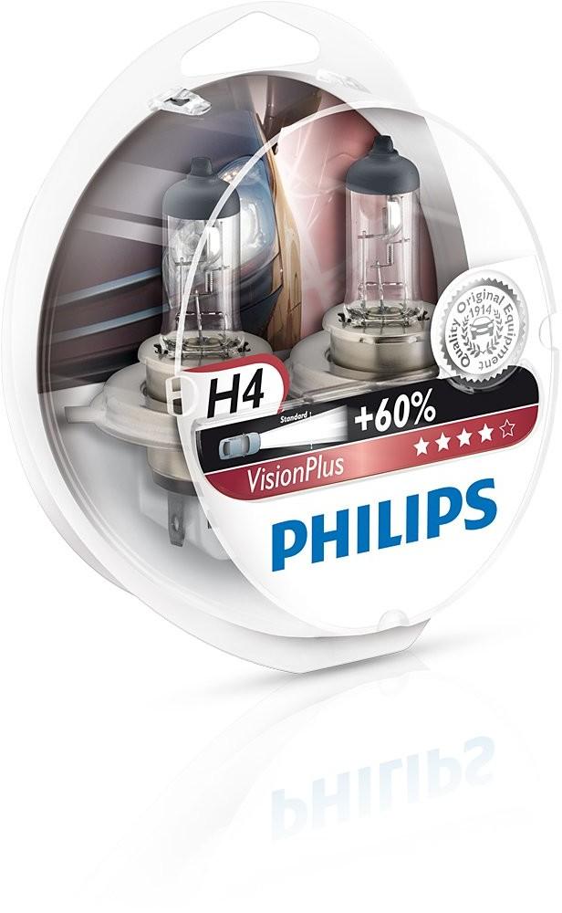 Philips S H4 12V 60/55W P43t-38 VisionPlus