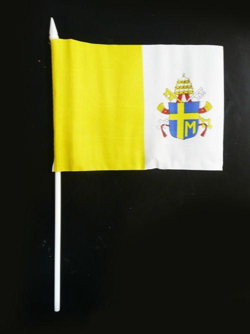 Opinie o Flaga Papieska Herb Jan Paweł II 45x30 cm