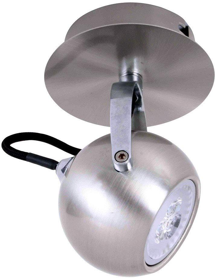 Italux Kinkiet plafon NICOLA SN LED FH5951BJ-80 SN