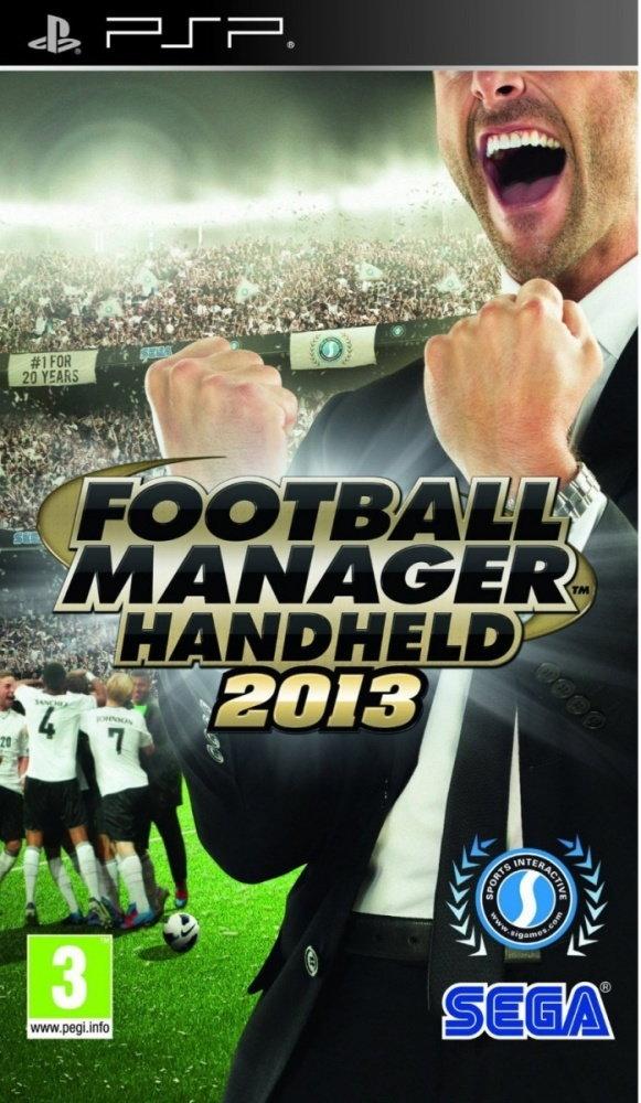 FOOTBALL MANAGER 2013 PSP
