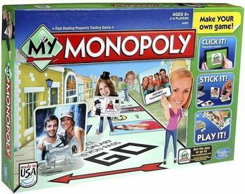 Hasbro Moje Monopoly A8595