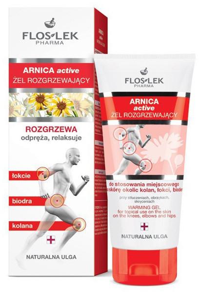 Flos-Lek Arnica Active żel rozgrzewający 200ml