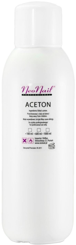 Neonail Aceton do usuwania hybrydy 1000 ml