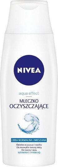 Nivea Aqua Effect Mleczko oczyszczające do twarzy 200ml