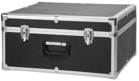 Classic Cantabile Classic cantabile walizka na akordeon, wyściełane na (walizka twarda, gigbag Case, czarny uchwyt do noszenia, okucia metalowe, 4stóp, wymiary wewnętrzne ok. 43cm x 41cm x 23cm) 00012301