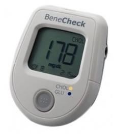 BeneCheck Benecheck Chol.Glu Urządzenie Do Pomiaru Cholesterolu I Glukozy