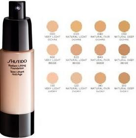 Shiseido Radiant Lifting Foundation Firming and Anti-wrinkle I60 Natural Deep Iv