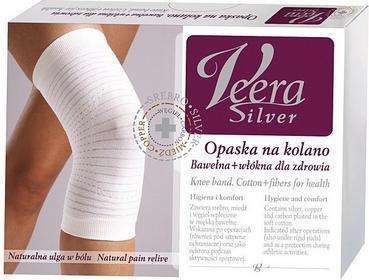 Veera Silver Opaska na kolano kojąca ból XL
