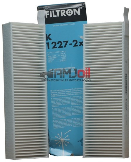 FILTRON Filtr kabinowy K1227-2X