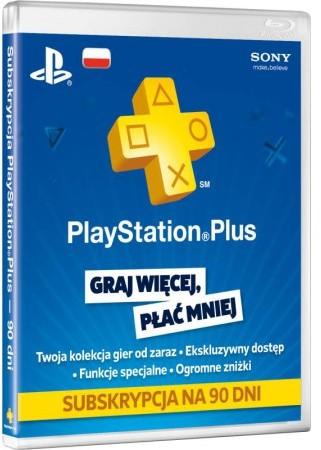 Sony Playstation Plus Cards 90 Dni