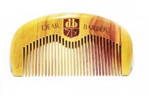 Dear Barber grzebień DO PIELĘGNACJI do brody i wąsów