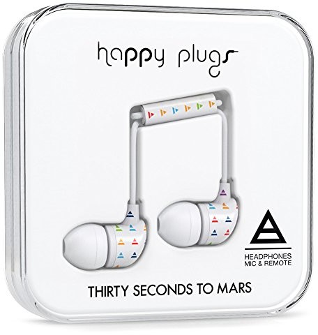 Happy Plugs Triad by Thirty Seconds to Mars in-ear headphone 7748