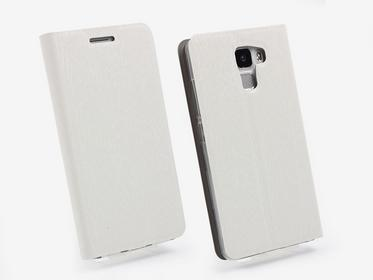 Etuo.pl Flex Book Huawei Honor 7 Pokrowiec  biały ETHW240FLBKCLR