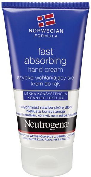 Neutrogena Krem do rąk szybko wchłaniajacy się 75ml