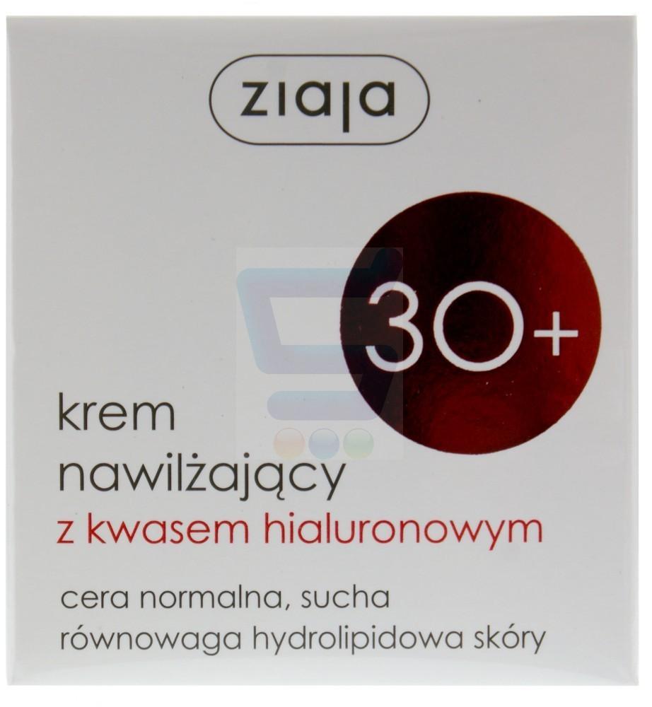 Ziaja Krem Nawilżający z Kwasem Hialuronowym 30+ 50ml