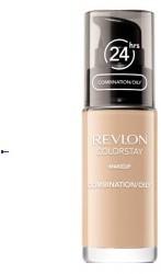 Revlon Colorstay Cera Mieszana/Tłusta podkład 330 Natural Tan 30ml z pompką)