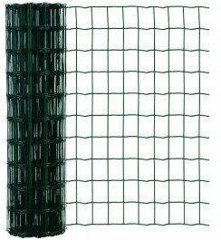 Arcelormittal siatka zgrzewana powlekana zielona 1.5x25 m