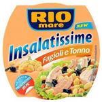 Rio Mare Bolton Gotowe danie z warzyw fasoli i tuńczykiem 160 g