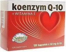 Naturell Koenzym Q10 + Witamina E 60 szt.
