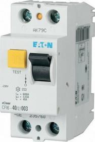 Eaton Wyłącznik różnicowoprądowy CFI6-40/2/003 2-biegunowy 235760