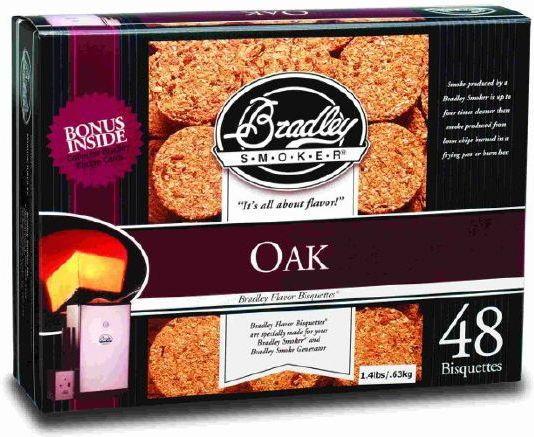 Bradley Smoker Brykiety a - Dąb BTOK48