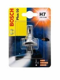 Bosch H7 PLUS 50 12V 55W