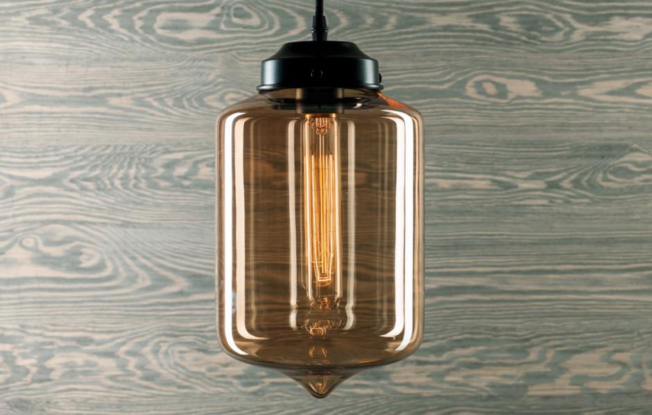 Altavola Design Lampa wisząca London Loft Amber - wzór 4 LA011/P_amb