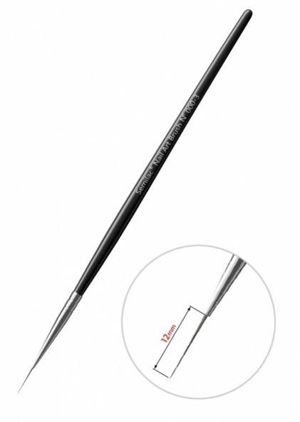 Semilac Diamond Cosmetics Nail Art Kolinsky Brush N 000-3