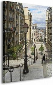 Paryż, Montmartre - Obraz na płótnie