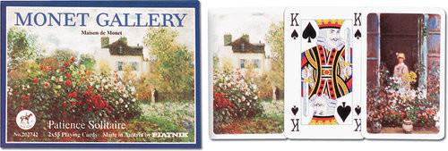 Piatnik Karty do gry 2 talie, Pasjans Monet