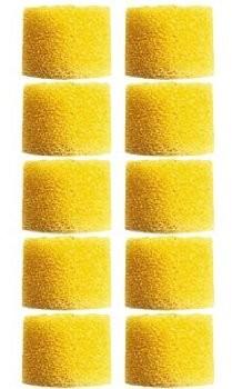 Shure eaylf110elementów dopasowujących do uszu do SE słuchawki douszne z pianki, żółty żółty EAYLF1-100