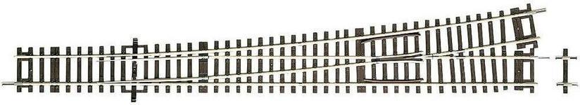 Roco Rozjazd prosty lewy 42488 2 1 x 345 x 1946 mm 10° skala H0