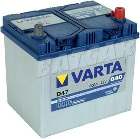 Varta A BLUE Dynamic D47 - 12V 60Ah 540A (EN) P+ JAPAN