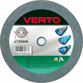Verto Tarcza do szlifierki stołowej 125x16x12,7mm, 2 sztuki, , 61H603