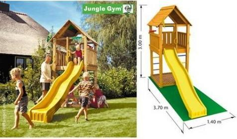 Jungle Gym Plac zabaw Cabin