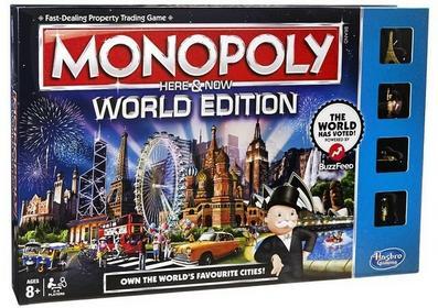 Hasbro Monopoly Here & Now Edycja Świat